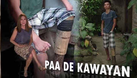 Rated K: Kilalanin ang lalaking may paa na kawayan Image Thumbnail