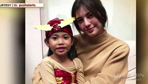 Umagang Kay Ganda: Jane De Leon natuwa nang makita ang batang naka costume ng Darna sa Halloween Party sa loob ng ABS-CBN Image Thumbnail