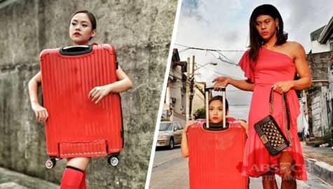 Kim Molina, nag-costume bilang maleta Image Thumbnail