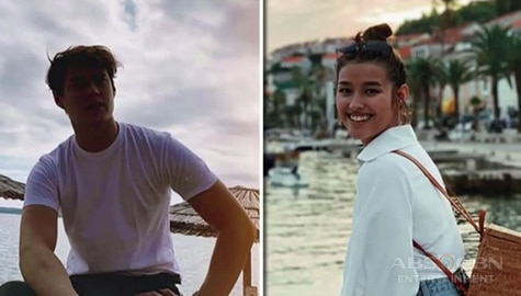 Umagang Kay Ganda: Enrique Gil and Liza Soberano share experience shooting 'Make It With You' in Croatia Image Thumbnail