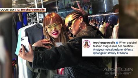 Umagang Kay Ganda: Teacher Georcelle ng G-Force, nagpa-picture kasama ang International Artist na si Rihanna sa Tokyo Image Thumbnail