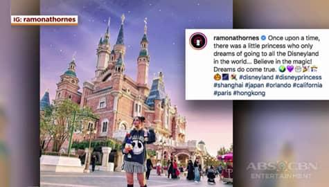 Umagang Kay Ganda: Arci Munoz, natupad ang pangarap na mapuntahan ang lahat ng Disneyland Park Image Thumbnail