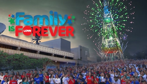 "ABS-CBN Christmas Station ID 2019 ""Family Is Forever"" Image Thumbnail"