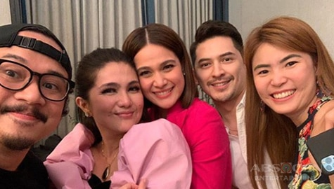 Umagang Kay Ganda: Cast ng 'One More Chance' reunited sa birthday ni Dimples Romana Image Thumbnail