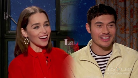 "TV Patrol: Emilia Clarke at Henry Golding, bibida sa ""Last Christmas"" Image Thumbnail"