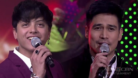 """WATCH: Piolo, Daniel charm everyone with their """"Jingle Bell Rock"""" performance  ABS-CBN Christmas Special 2019 Image Thumbnail"""
