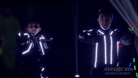 WATCH: Sarah G, Darren mesmerize everyone with their light dance performance   ABS-CBN Christmas Special 2019 Image Thumbnail