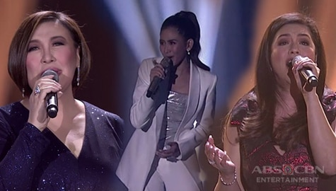 WATCH: Sharon, Regine, Sarah G in an all-out diva showdown | ABS-CBN Christmas Special 2019 Image Thumbnail