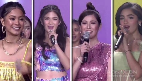"WATCH: Kapamilya Teen Leading Ladies stun everyone with their ""ME!"" performance 