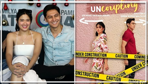 "Yam Concepcion and Joseph Marco talk about iWant's ""Uncoupling"" Image Thumbnail"