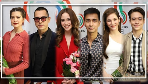 WATCH: Kapamilya stars ink contract with ABS-CBN Image Thumbnail