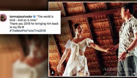Umagang Kay Ganda: Maja Salvador, inilarawang 'best plot twist of 2019' ang nobyong si Rambo Nuñez Image Thumbnail