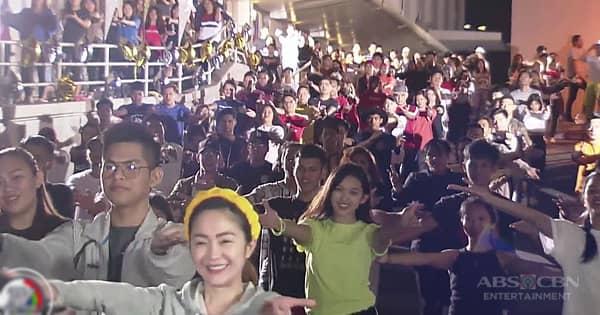 TV Patrol: Ensayo para sa engrandeng flash mob dance ng 'Tala' sa ASAP bukas, puspusan na Image Thumbnail