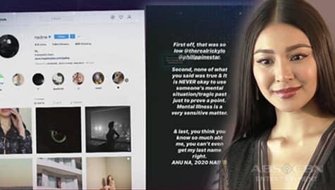 TV Patrol: Nadine Lustre, pumalag sa artikulo ni Ricky Lo Image Thumbnail