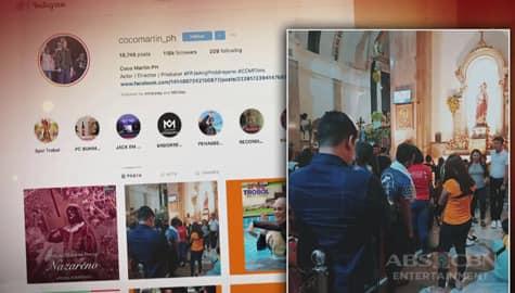 TV Patrol: Coco Martin, muling ipinakita ang debosyon sa Poong Nazareno ngayong taon Image Thumbnail