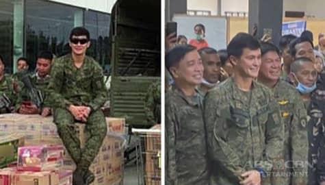 Umagang kay Ganda: Matteo Guidecelli, namahagi ng tulong kasama ang Philippine Army sa mga biktima ng bulkang Taal Image Thumbnail
