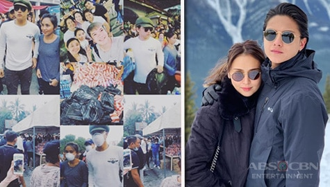 TV Patrol: Kathniel, namigay ng relief goods sa mga naapektuhan ng pagsabog ng Bulkang Taal Image Thumbnail