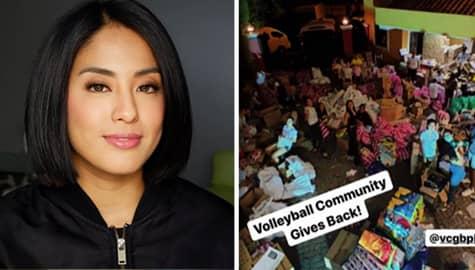Umagang Kay Ganda: Nagpasalamat si Gretchen Ho ng Volleyball Community sa lahat ng tumulong sakanila para makapag-donate sa mga nasalanta ng bulkang Taal Image Thumbnail