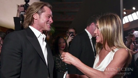 Umagang Kay Ganda: Brad Pitt at Jennifer Aniston, reunited sa Screen Actors Guild Awards Image Thumbnail