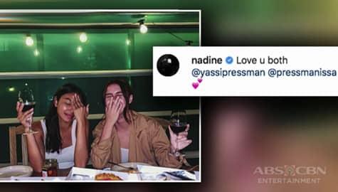 Umagang kay Ganda: Nadine Lustre, nilinis ang pangalan ni Issa Pressman sa break-up nila ni James Reid Image Thumbnail