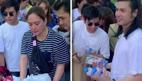 Umagang kay Ganda: Pamilya Ko cast, namigay ng relief goods sa Batangas Image Thumbnail