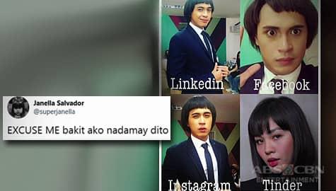 Umagang kay Ganda: Janella Salvador, nagreact sa profile picture challenge entry ni Marlo Mortel Image Thumbnail