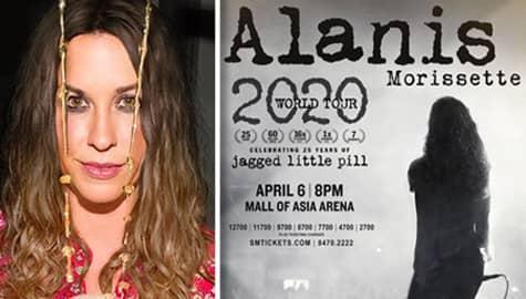Umagang kay Ganda: Alanis Morissette, magkakaroon ng concert sa Pilipinas Image Thumbnail