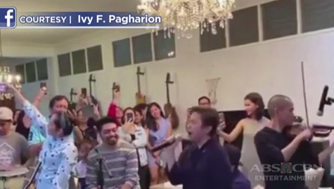 Umagang Kay Ganda: Lea Salonga, kumanta ng 'Alone' sa birthday party ni Nyoy Volante Image Thumbnail