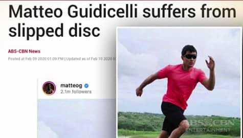 Umagang Kay Ganda: Matteo Guidicelli, nakaranas ng slipped disc habang nagte-training Image Thumbnail