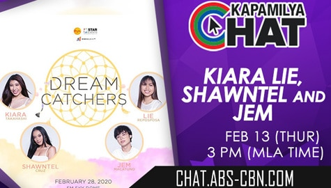 Kapamilya Chat with Jem and Shawntel for Dream Catcher's Concert