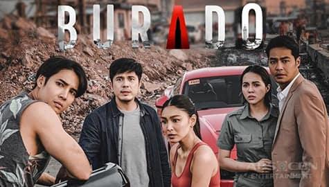 Umagang Kay Ganda: Maaksyong litrato ng mga cast ng 'Burado,' inilabas na Image Thumbnail