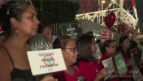 TV Patrol: Kapamilya Employees, media, at sectoral groups, nagtipon-tipon para ipanawagan ang renewal ng prangkisa ng ABS-CBN Image Thumbnail