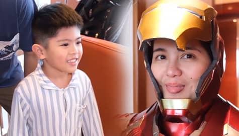 Umagang Kay Ganda: Dimples Romana, nagsuot ng Iron Man costume para sorpresahin ang anak Image Thumbnail