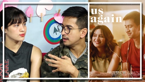 "Jane Oineza and RK Bagatsing talk about their roles in ""Us Again"""