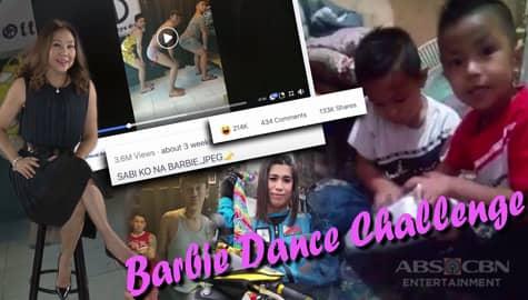 Rated K: Kilalanin ang batang nasa likod ng viral Barbie video Image Thumbnail