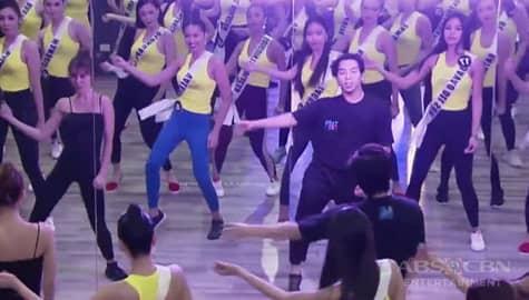 Umagang Kay Ganda: Mga kandidata ng Binibining Pilipinas 2020, sumabak sa dance workshop at projection training Image Thumbnail