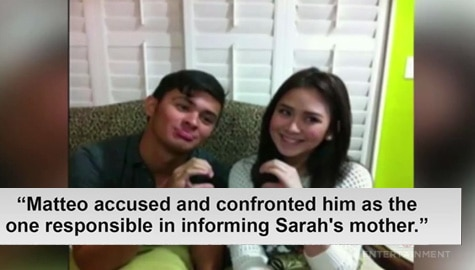 TV Patrol: Secret wedding nina Sarah Geronimo at Matteo Guidicelli, nauwi umano sa pananapak Image Thumbnail