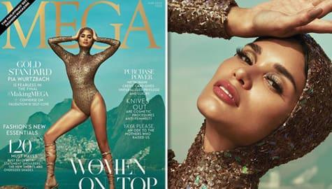 """Umagang Kay Ganda: Pia Wurtzbach, tampok sa """"Women on Top"""" issue ng Mega magazine Image Thumbnail"""