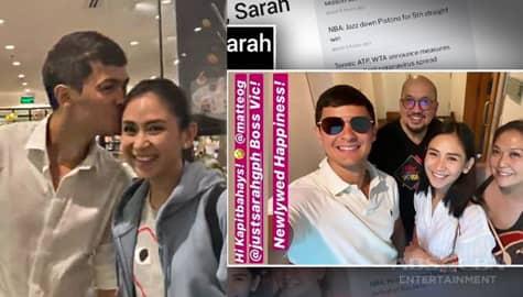 TV Patrol: Sarah at Matteo lumipat na sa kanilang bagong bahay  Image Thumbnail