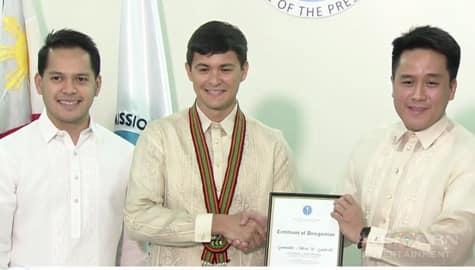 TV Patrol: Matteo Guidicelli, itinalaga bilang bagong Youth Ambassador ng National Youth Commission  Image Thumbnail