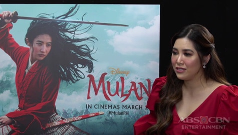 """TV Patrol: Moira Dela Torre, napiling kumanta ng 'Reflection' para sa live action remake ng """"Mulan"""" Image Thumbnail"""