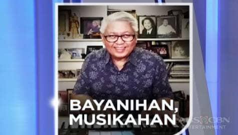 "TV Patrol: OPM artists, kakanta via livestream sa ""Bayanihan, Musikahan"" digital concert Image Thumbnail"