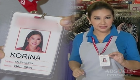 Rated K: Korina, naging sales lady for a day Image Thumbnail