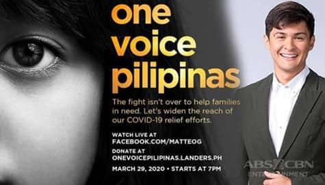 TV Patrol: 'One Voice Pilipinas' ni Matteo, nakalikom na ng P7.7 Milyon Image Thumbnail