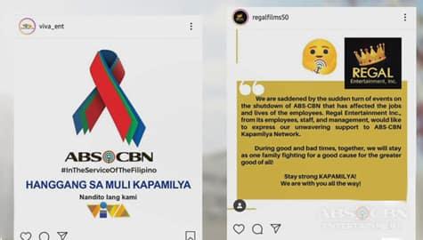 TV Patrol: Viva at Regal, nagpapakita ng suporta sa Kapamilya network Image Thumbnail