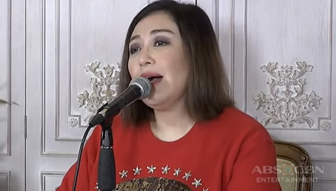 "WATCH: Sharon Cuneta dedicates ""Kahit Konting Pagtingin"" to Susan Roces 