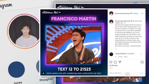 "TV Patrol: Fil-Am singer Francisco Martin, pasok sa top 7 ng ""American Idol"" Image Thumbnail"