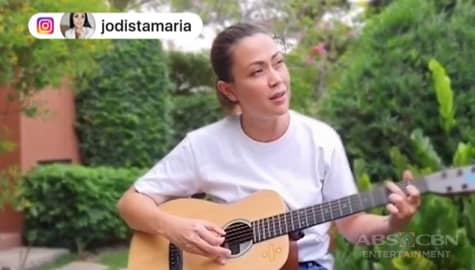 TV Patrol: Jodi Sta. Maria, ipinakita ang tulong ng ABS-CBN sa gitna ng krisis Image Thumbnail
