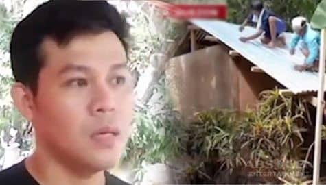 TV Patrol: Marcelito Pomoy, nagpatayo ng bahay para sa isang lola Image Thumbnail