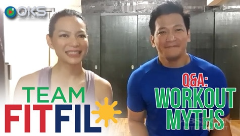 Popular workout myths, ipinaliwanag ng fitness experts | TEAM FITFIL Episode 1 Image Thumbnail